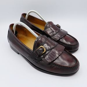 Cole Haan Men's Loafers Burgundy Size 9.5D